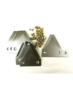 Section overlap kit - Replacement for Late Model New Holland HS Series includes fasteners!