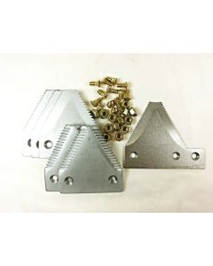 NH-Late big tooth serration plated section O/L kit