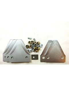 Hesston big tooth serration plated section O/L kit