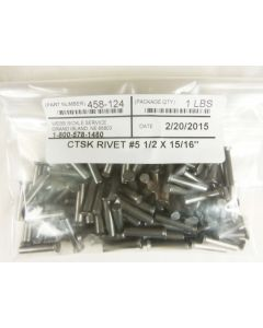CTSK Rivet #5-1/2 x 15/16-inch, 1 lb (105 pcs/lb)