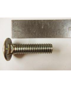 Carriage head bolt 3/8-inch x 1-1/2-inch