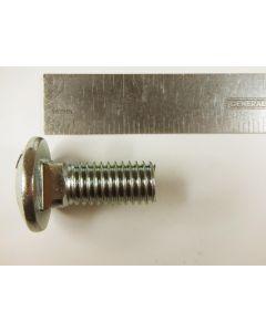 Carriage head bolt 1/2-inch x 1-1/4-inch