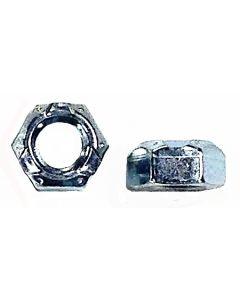 Nut, hex crown lock 5/16-inch