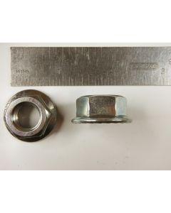 Nut, flange, 1/2-inch