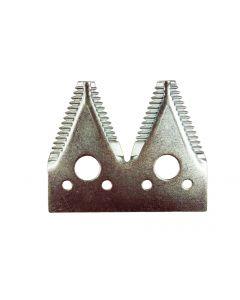 JD 600 4-pt Large 7/in serration plated , OEM# H163131, 100-ct