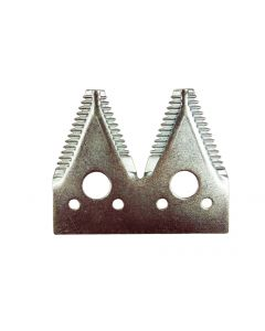 JD 600 4-pt Large 7/in serration plated section