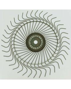 Vicon/Gehl 54-inch RH rake wheel assembly, OEM# 92611
